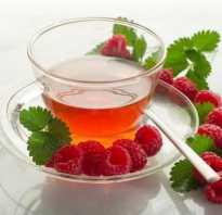 Чем полезен малиновый чай
