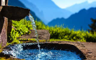 Родниковая вода чем полезна