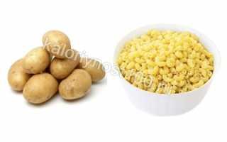 Что полезнее картофель или макароны