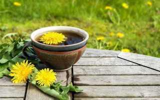 Чай из одуванчиков польза и вред
