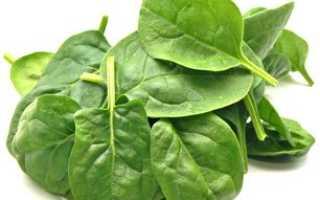 Что полезного в шпинате