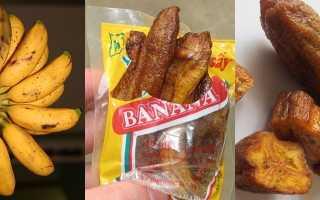 Чем полезен банан сушеный