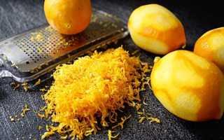Полезна ли корка лимона