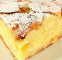 Пирог с яблоками полезный