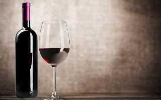 Красное полусладкое вино полезно ли
