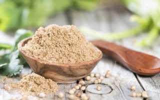 Полезные свойства семена кинзы