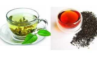 Какой чай полезен черный или зеленый