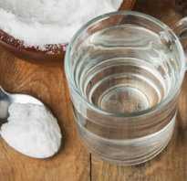 Полезно ли натощак пить соду