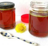 Мед одуванчиковый полезные свойства