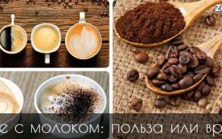 Растворимый кофе с молоком польза и вред