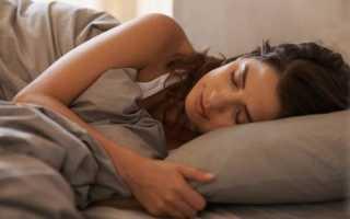 Спать на левом боку полезно