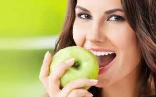 Яблоки для зубов полезны ли