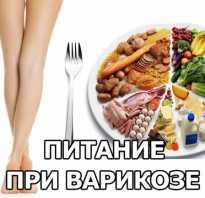 Продукты полезные при варикозе ног