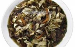 Полезен ли грибной суп