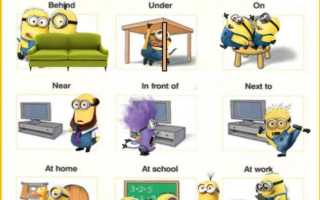 Полезные таблицы по английскому