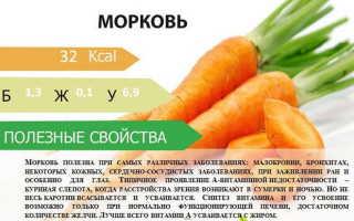 Полезна ли для печени морковь