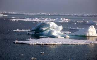Полезные ископаемые моря восточно сибирского
